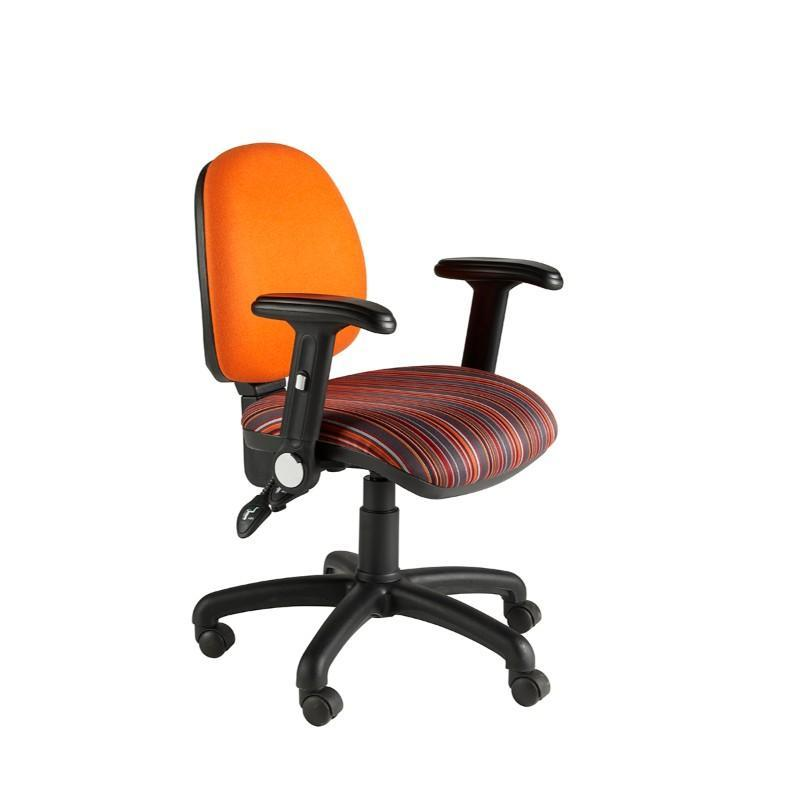 Operator Chair Folding Arms / Standard / Black Abingdon Medium Back Operator Chair Folding Arms / Standard / Black
