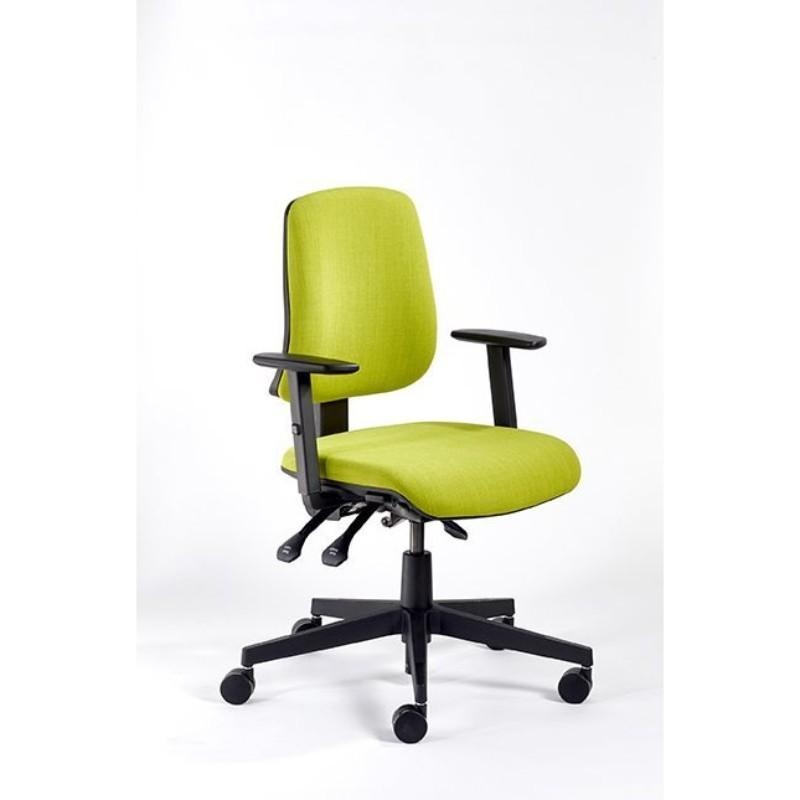 operator chair No Arms / Black Base / Standard Vivo High Back Operator Chair No Arms / Black Base / Standard