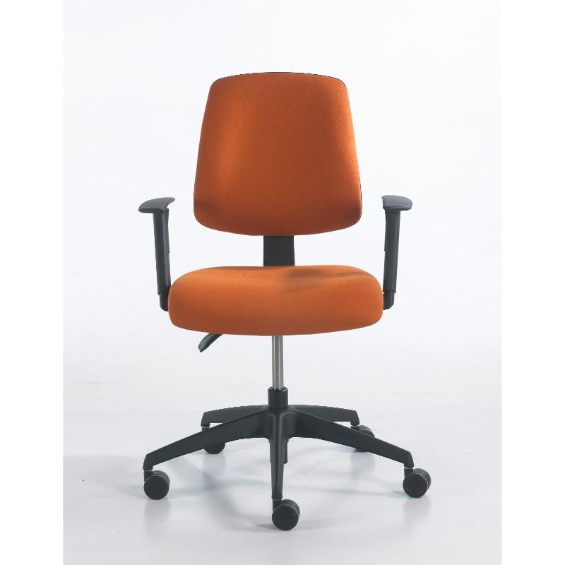 operator chair No Arms / Black Base / Standard Vivo Medium Back Operator Chair No Arms / Black Base / Standard