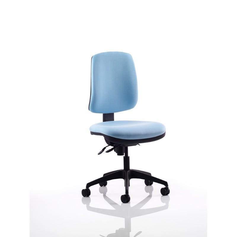 operator chair No Arms / Black Nylon Spider Base / Standard 3D Operators Chair No Arms / Black Nylon Spider Base / Standard