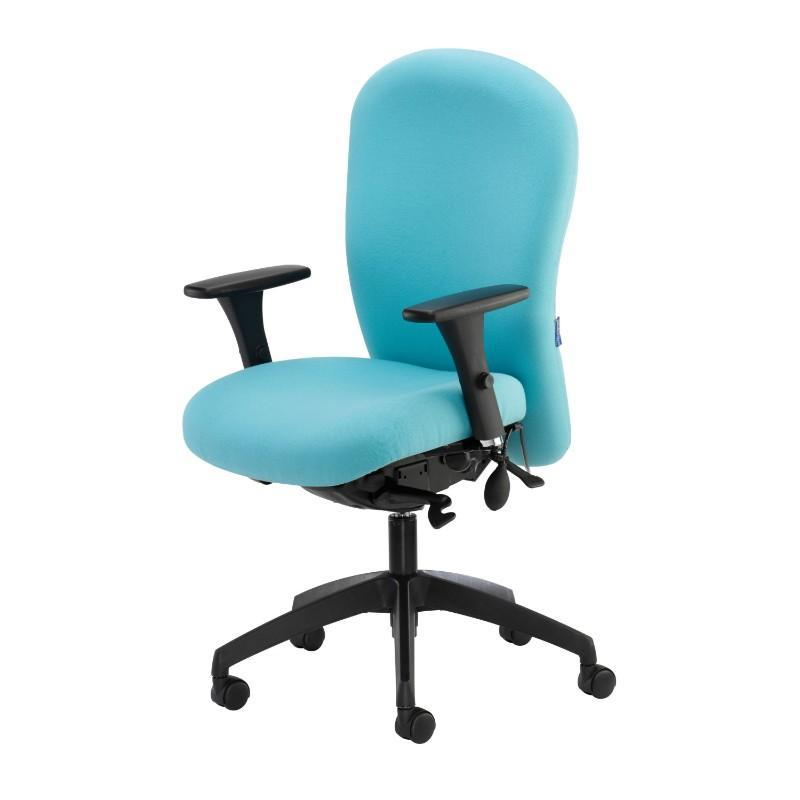 operator chair No Arms / Black Posture 150 Backcare Operator Chair No Arms / Black