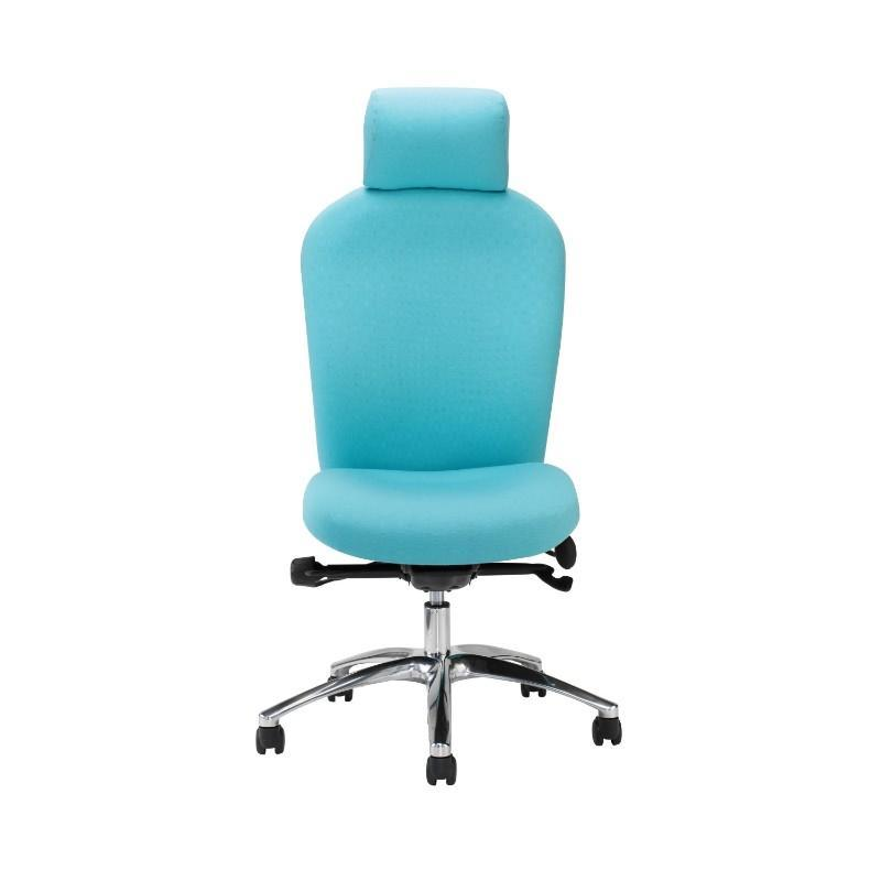 operator chair No Arms / Polished Aluminium Posture 150 Backcare Operator Chair No Arms / Polished Aluminium