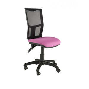 Operator Chair No Arms / Standard / Black Clipper Mesh Back Operator Chair No Arms / Standard / Black
