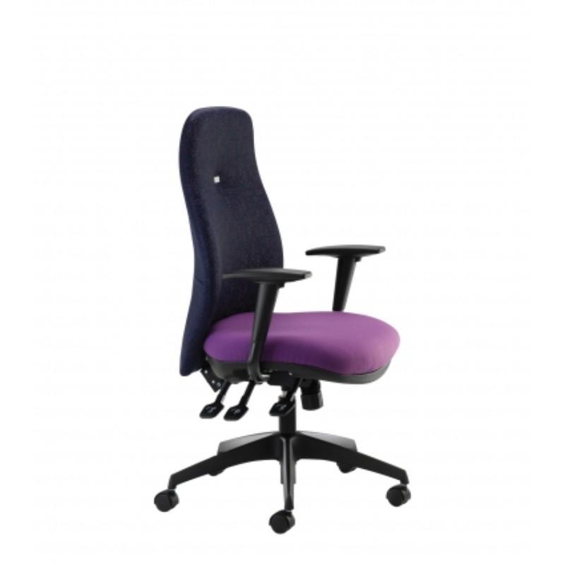 operator chair No Arms / Standard / Black Dart Executive Operator Chair No Arms / Standard / Black