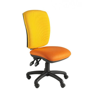 Operator Chair No Arms / Standard / Black Hurley Squared Back Operator Chair No Arms / Standard / Black