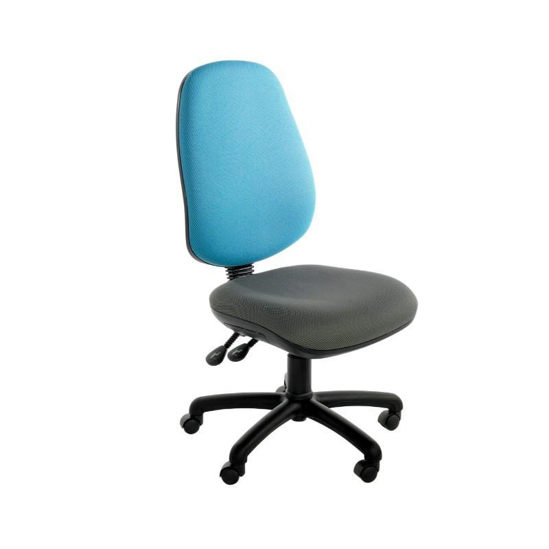 Operator Chair No Arms / Standard / Black Marlow Plus Operator Chair No Arms / Standard / Black