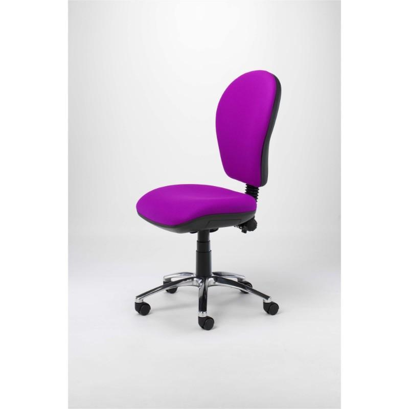 operator chair No Arms / Standard / Polished Aluminium Orbit Operator Chair No Arms / Standard / Polished Aluminium