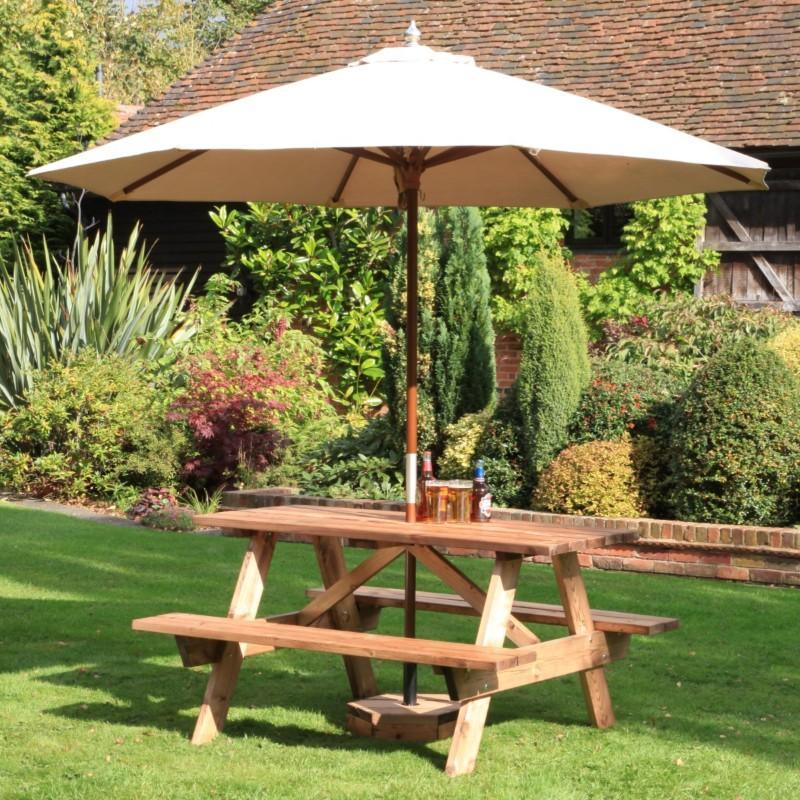 outdoor tables & benches 6 Seater A-Frame Table
