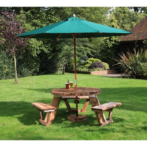 outdoor tables & benches Circular 6/9 Seater Table