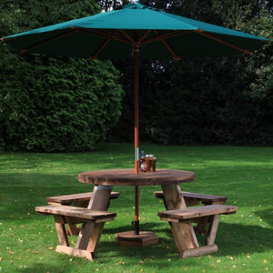 outdoor tables & benches Circular 8 Seater Table
