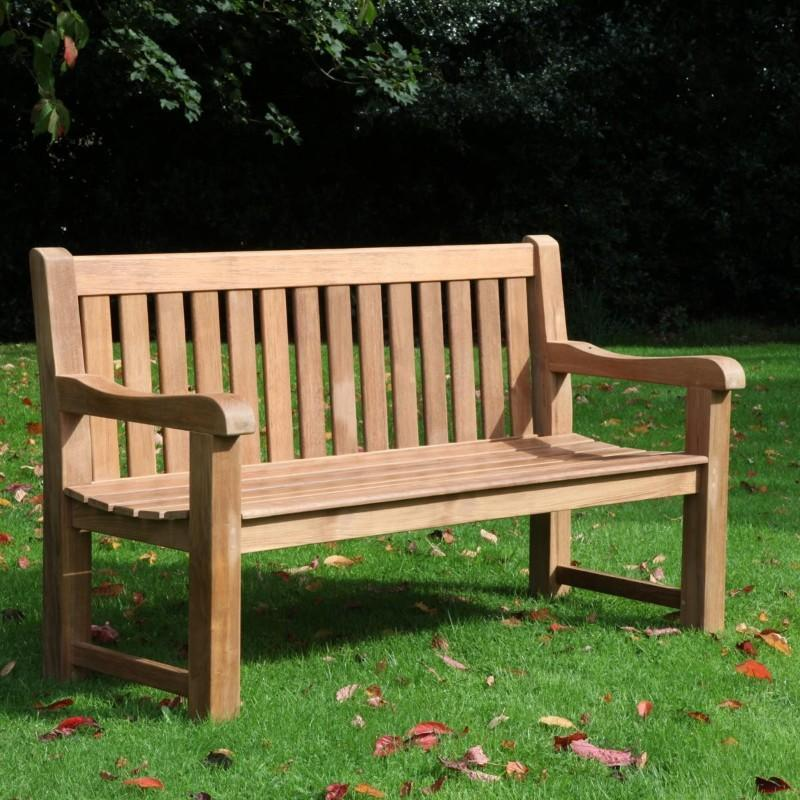 outdoor tables & benches Clarion Teak Bench