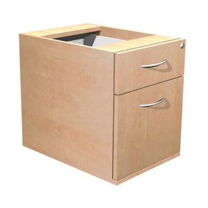 pedestal 2 Drawer Alpine Contract Fixed Pedestal 2 Drawer