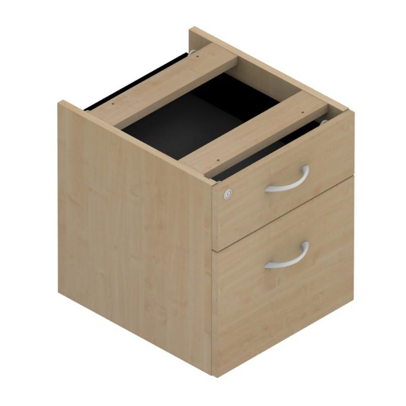 pedestal 2 Drawers Colorado Fixed Pedestals, 600 deep 2 Drawers