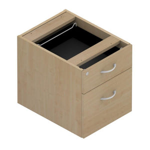 pedestal 2 Drawers Colorado Fixed Pedestals, 800 deep 2 Drawers