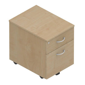 pedestal 2 Drawers Colorado Mobile Low Pedestals 2 Drawers