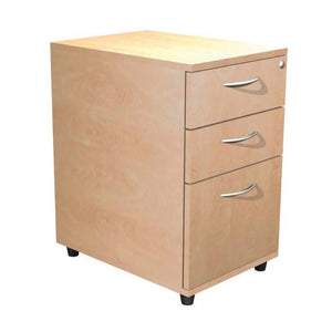 pedestal 3 Drawer / 600mm Alpine Contract Desk Height Pedestal 3 Drawer / 600mm
