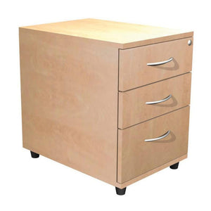 pedestal 3 Drawer Alpine Contract Small Mobile Pedestal 3 Drawer