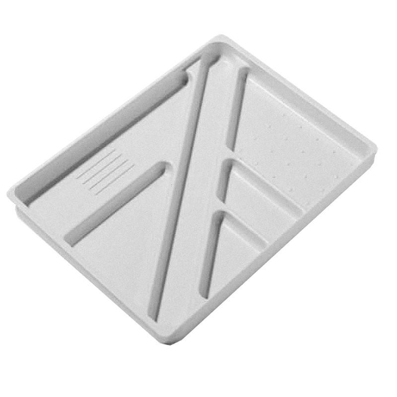 pedestal To Suit PSR, PSS - d235mm Alpine Pedestal Stationery Tray To Suit PSR, PSS - d235mm