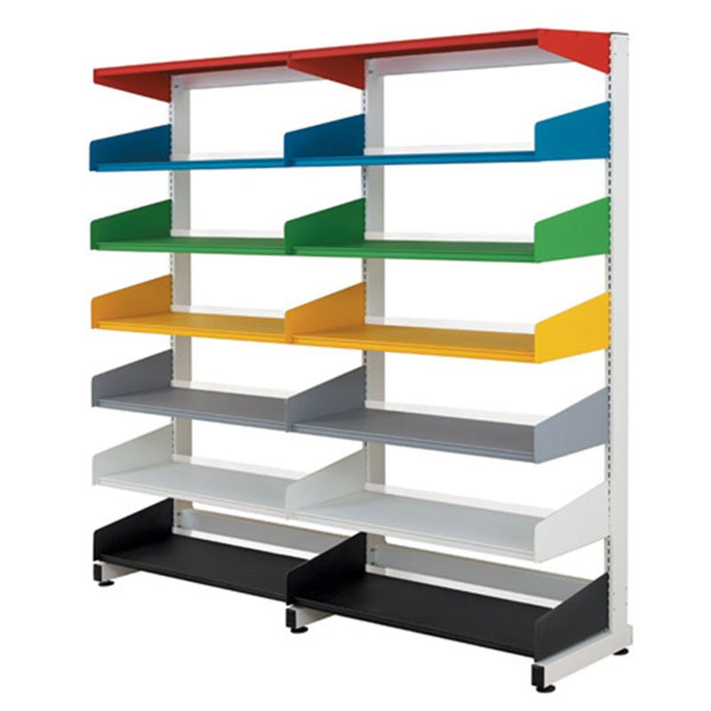 Minim Metal Single Sided Bookcases