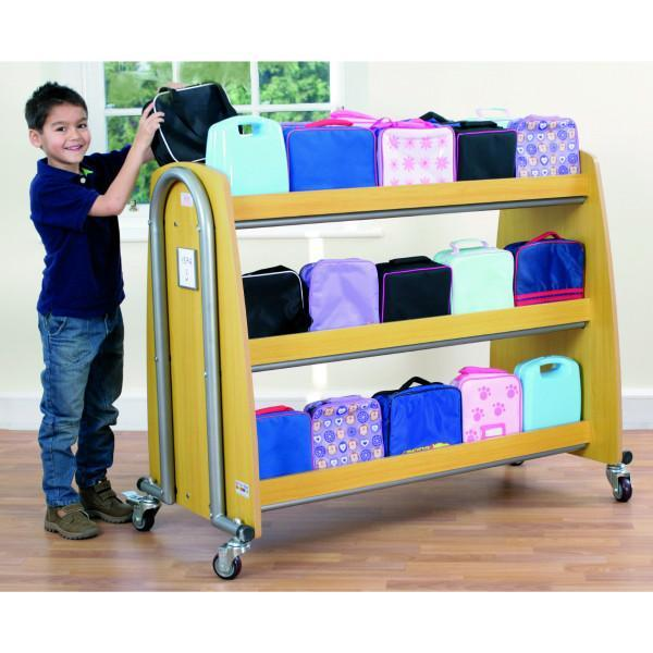 Single Lunchbox Trolley