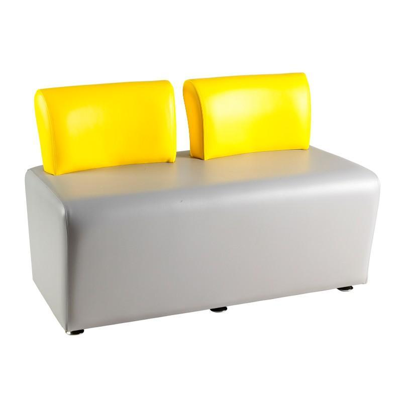 Soft Seating Adult 2 Seater with Back Morley Adult Modular Seating