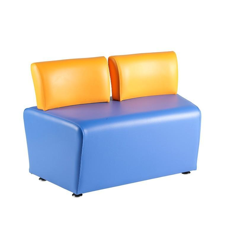 Soft Seating Adult Angled 2 Seater with Back Morley Adult Modular Seating