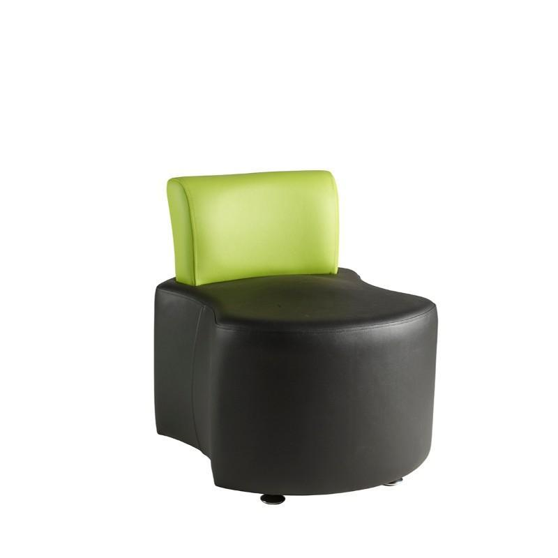 Soft Seating Double Concave Unit with Back Rest Pudsey Modular Seating
