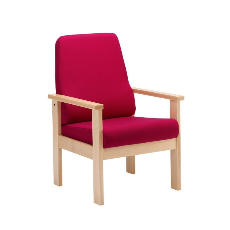 Soft Seating High Back Armchair Romsey Plus Seating High Back Armchair
