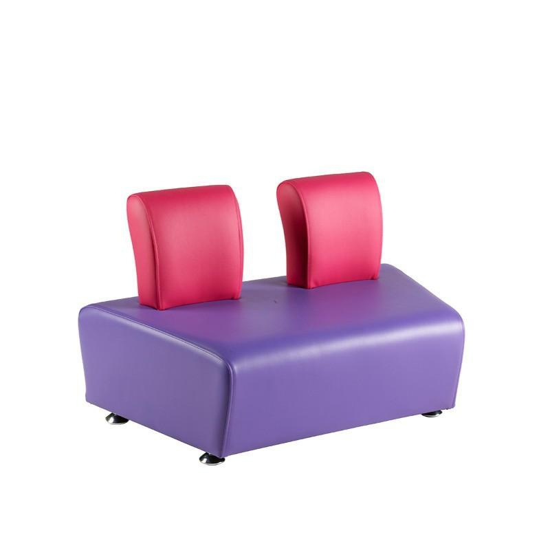 Soft Seating Junior Angled 2 Seater with Back Morley Junior Modular Seating