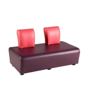 Soft Seating Junior2 Seater with Back Morley Junior Modular Seating