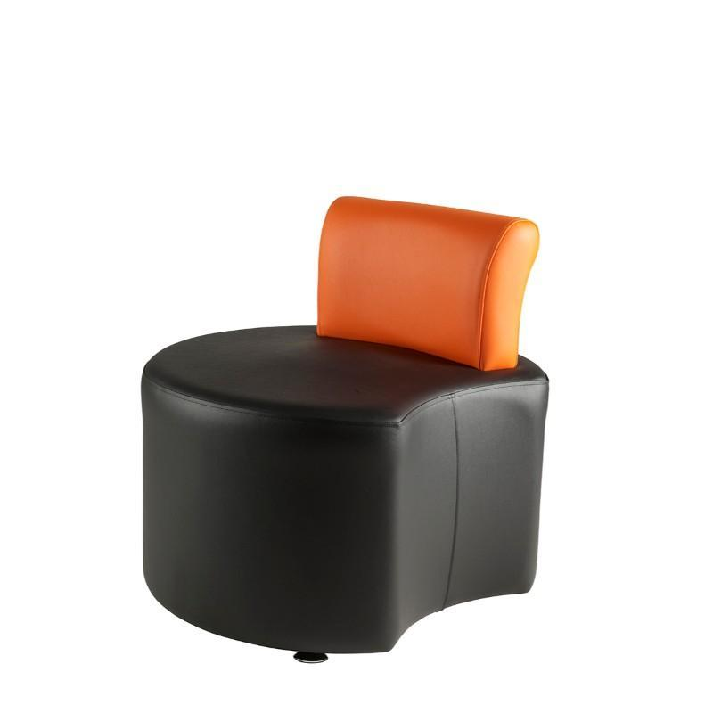 Soft Seating Left Concave with Back Rest Pudsey Modular Seating