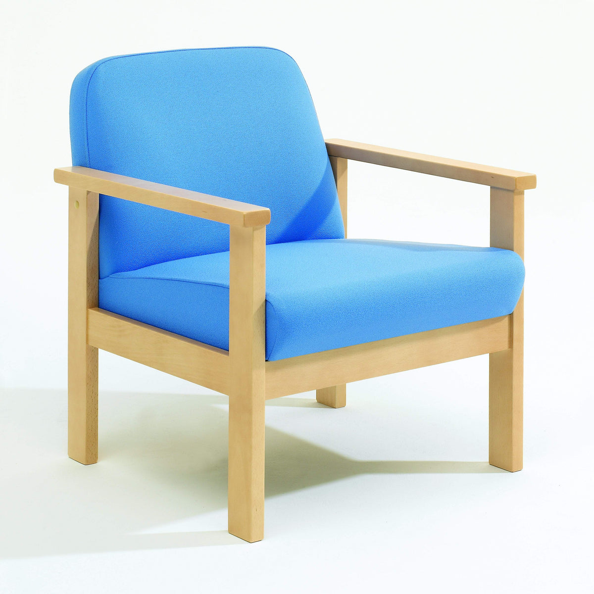 Soft Seating Low Back, Armchair Romsey Beech Frame Seating