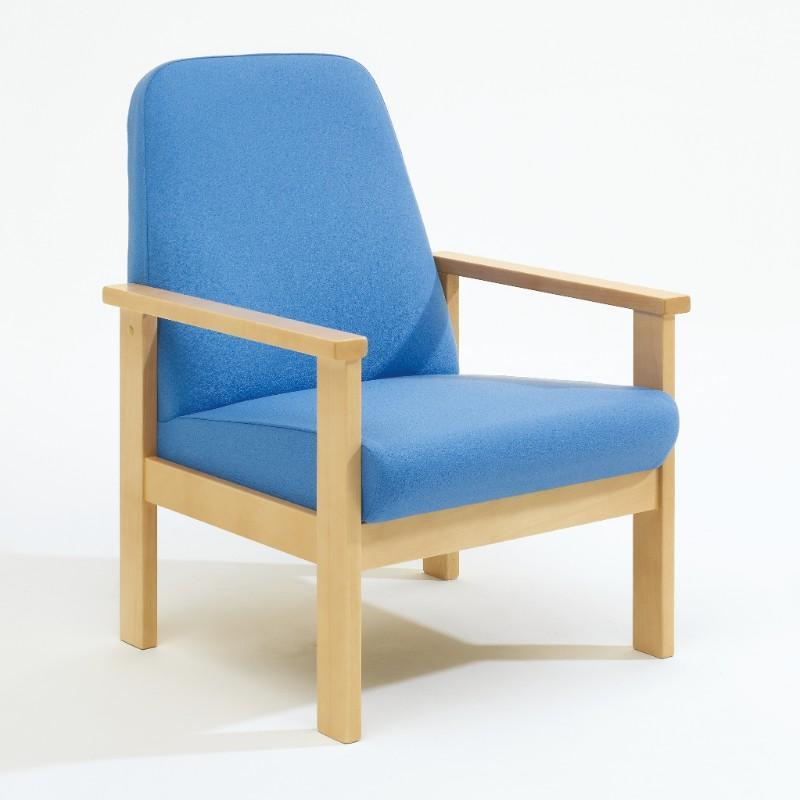 Soft Seating Medium Back, Armchair Romsey Beech Frame Seating