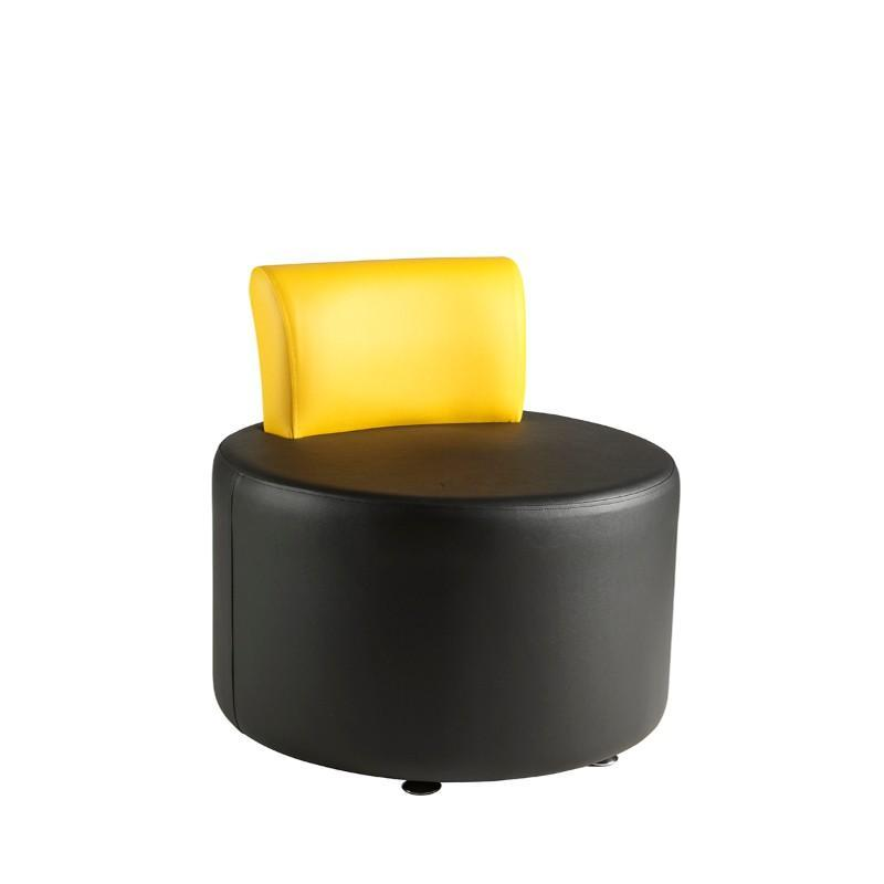 Soft Seating Round Unit with Back Rest Pudsey Modular Seating