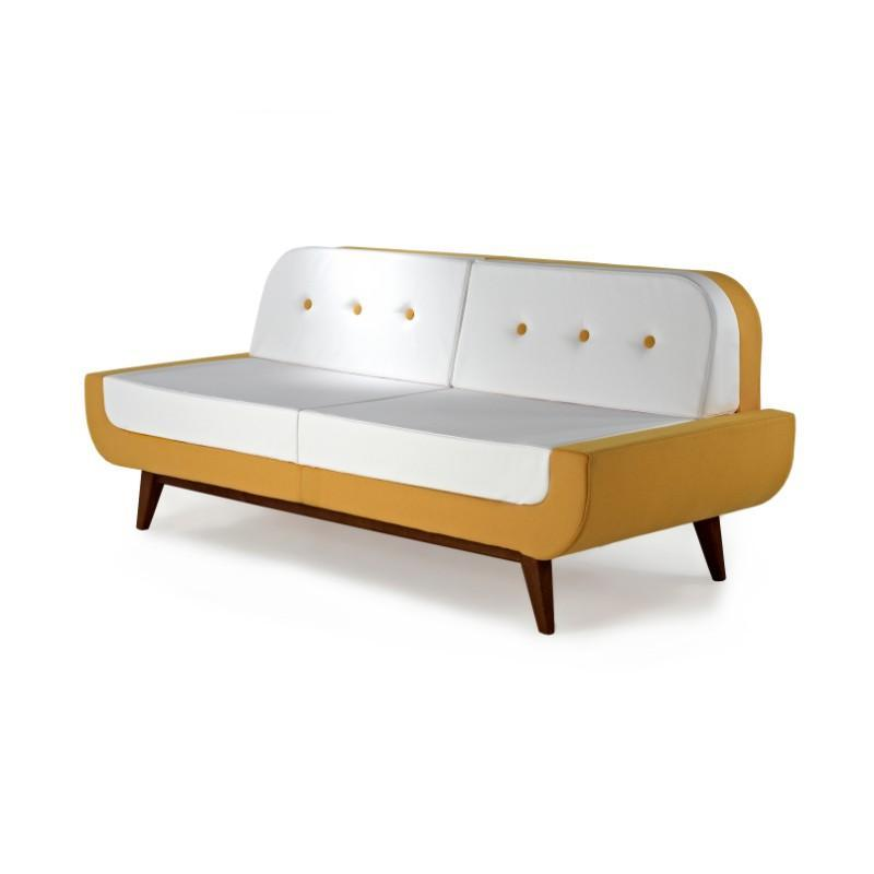 soft seating Two Seater Bench with Back Pop Sofa Collection Two Seater Bench with Back