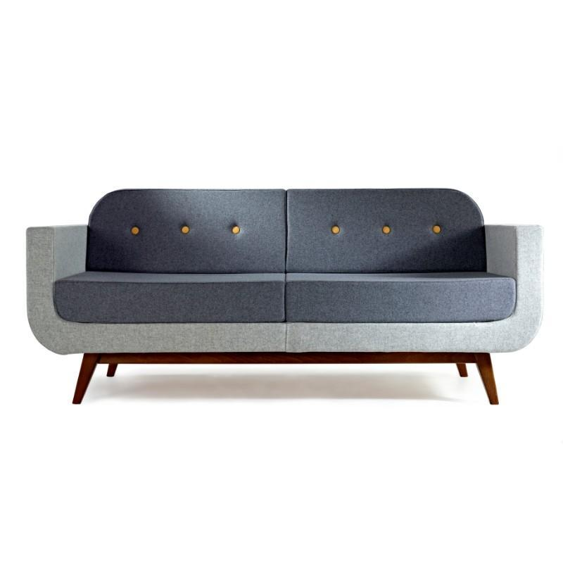 soft seating Two Seater Sofa with Arms & Back Pop Sofa Collection Two Seater Sofa with Arms & Back