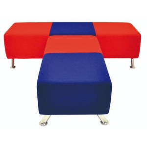 Stool 2 Seater Cosmic Qube Junior Stool