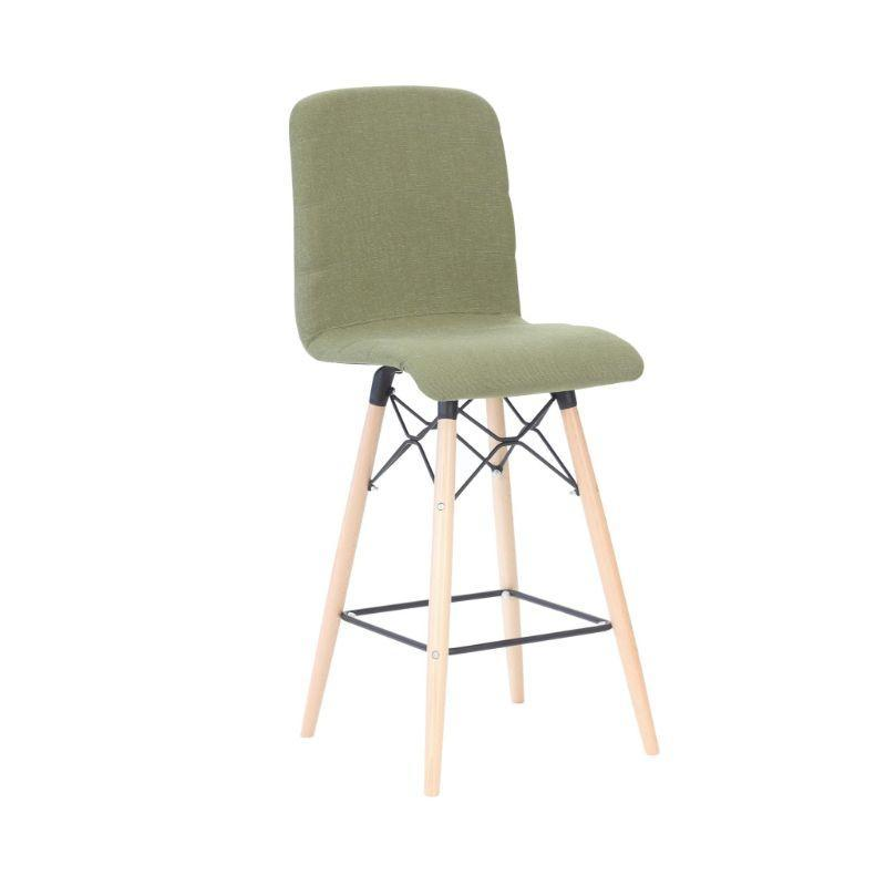 stool Splayed Wooden Leg Frame / High Back Camber Stool Splayed Wooden Leg Frame / High Back