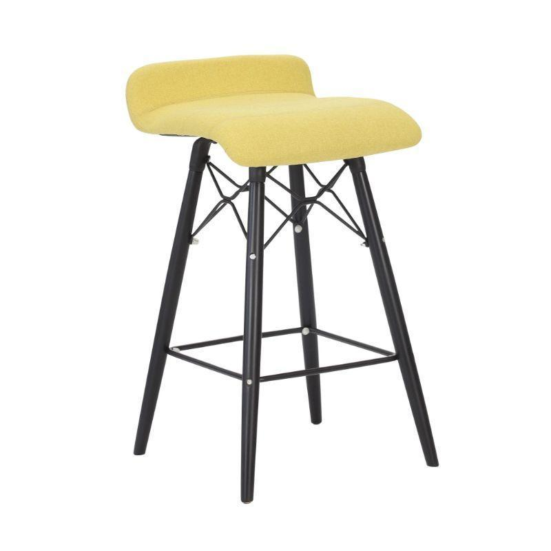 stool Splayed Wooden Leg Frame / Low Back Camber Stool Splayed Wooden Leg Frame / Low Back
