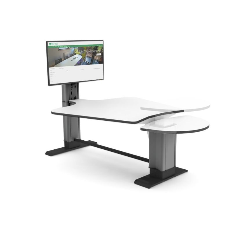 Plectrum Network Collaborative Height Adjustable Media Station