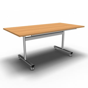Table 1600 x 800 x 720mm / Rectangular / Beech Synergy Flip Top Tables
