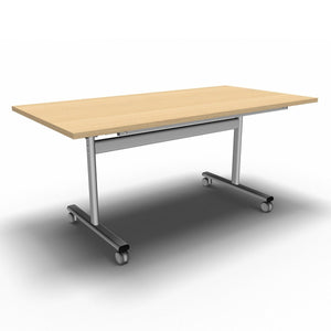 Table 1600 x 800 x 720mm / Rectangular / Maple Synergy Flip Top Tables