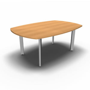 Table 1800 x 1200mm / Beech Synergy Boardroom Tables