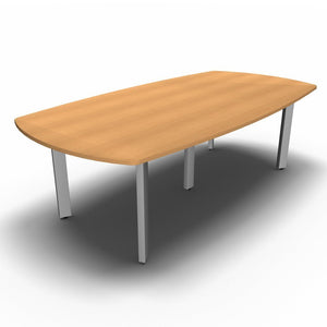 Table 2400 x 1200mm / Beech Synergy Boardroom Tables