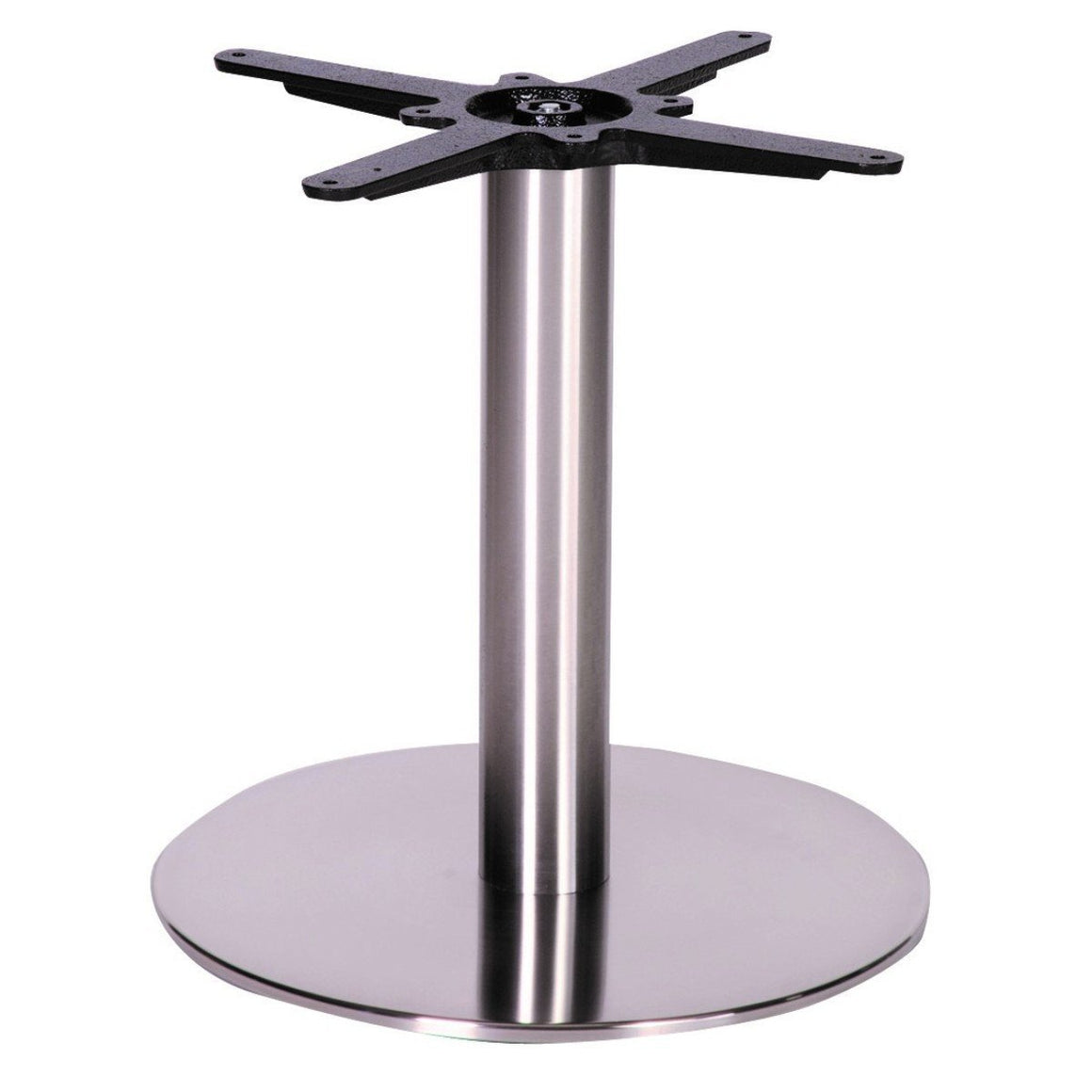 Table Base Fabio Stainless Steel Table Base
