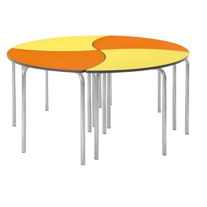 Table Creative Cluster Segment Tables