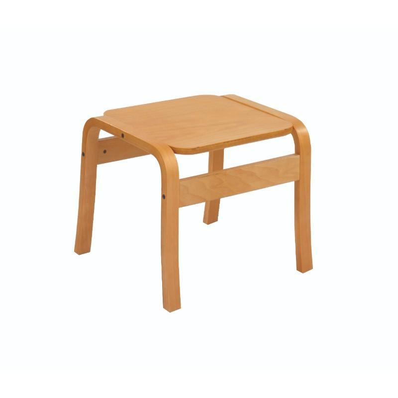 Table Square Hendon Beech Frame Table