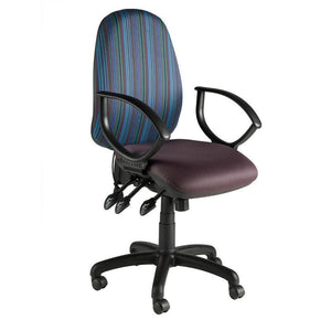 Task Chair Fixed Arms / Black Evolve Task Chair Fixed Arms / Black