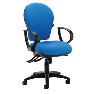 task chair Fixed Arms / Operator Plus Mechanism / Black Colon Task Chair Fixed Arms / Operator Plus Mechanism / Black