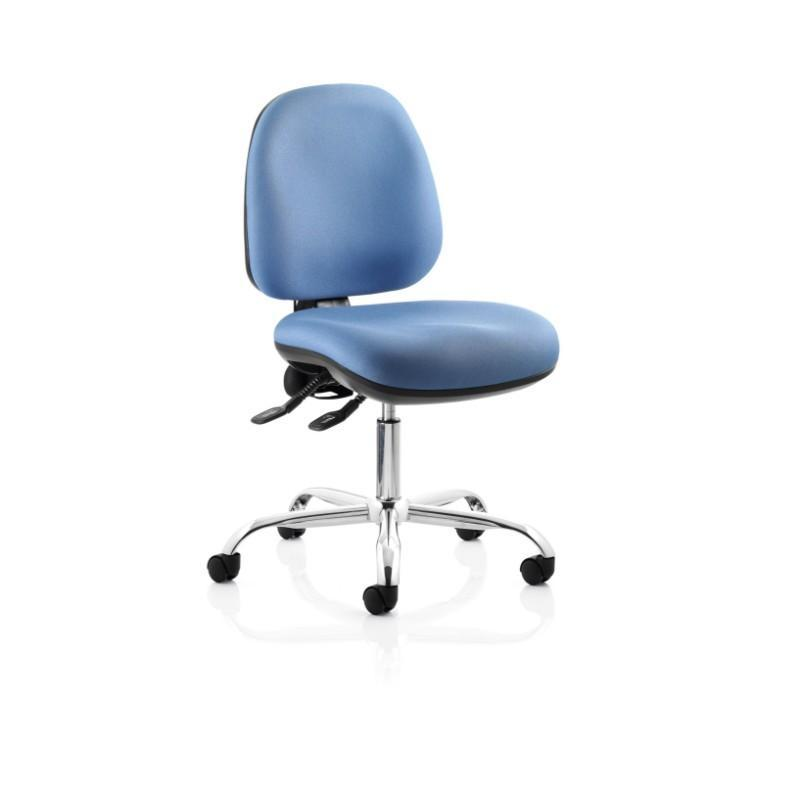 task chair No Arms / Chrome Base / Standard Ergotek Mid Back Task Chair No Arms / Chrome Base / Standard